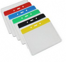 VISITOR PAPER PASS HOLDER - 100mm x 75mm